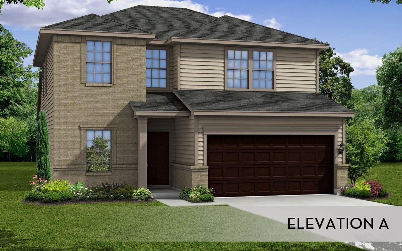 Brazos cobalt home plan by castlerock communities in for By design home care san antonio