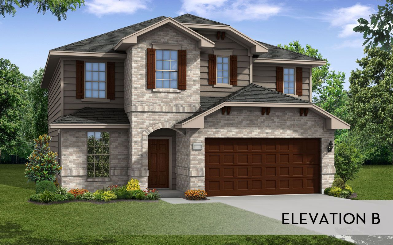 Dakota Silver Home Plan By Castlerock Communities In