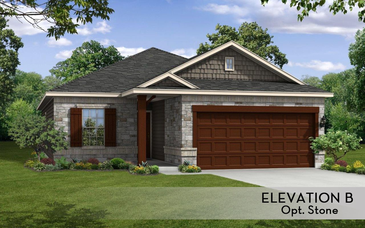 Frio cobalt home plan by castlerock communities in hudson for By design home care san antonio