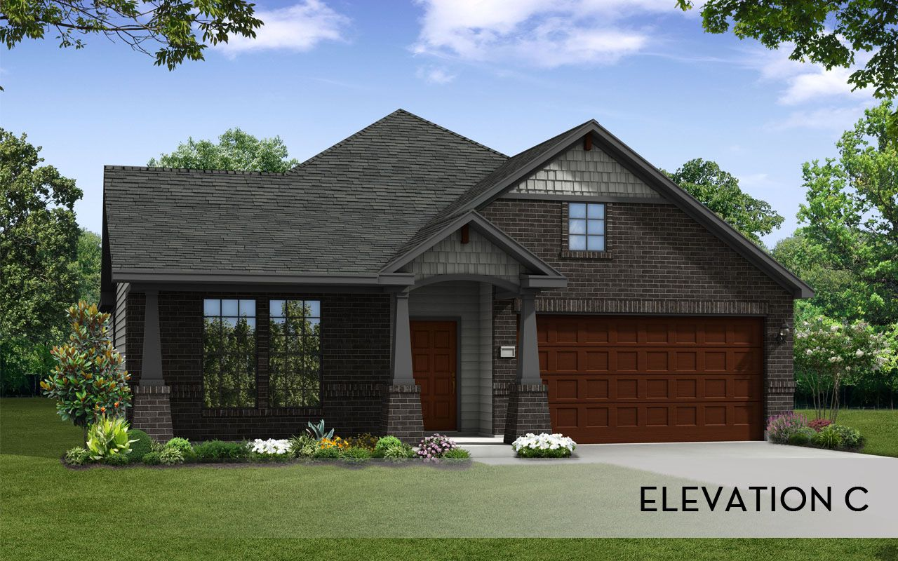Glenwood silver home plan by castlerock communities in for By design home care san antonio