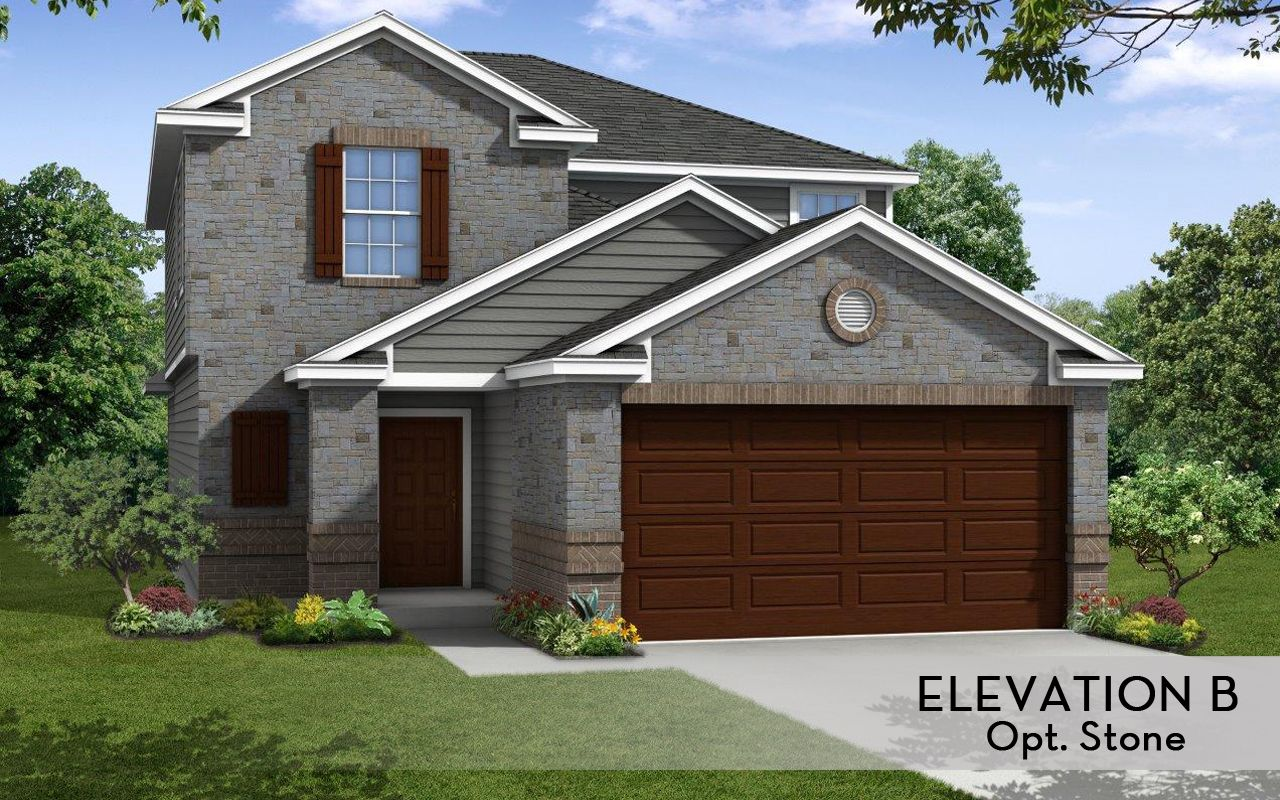 Neches cobalt home plan by castlerock communities in for By design home care san antonio