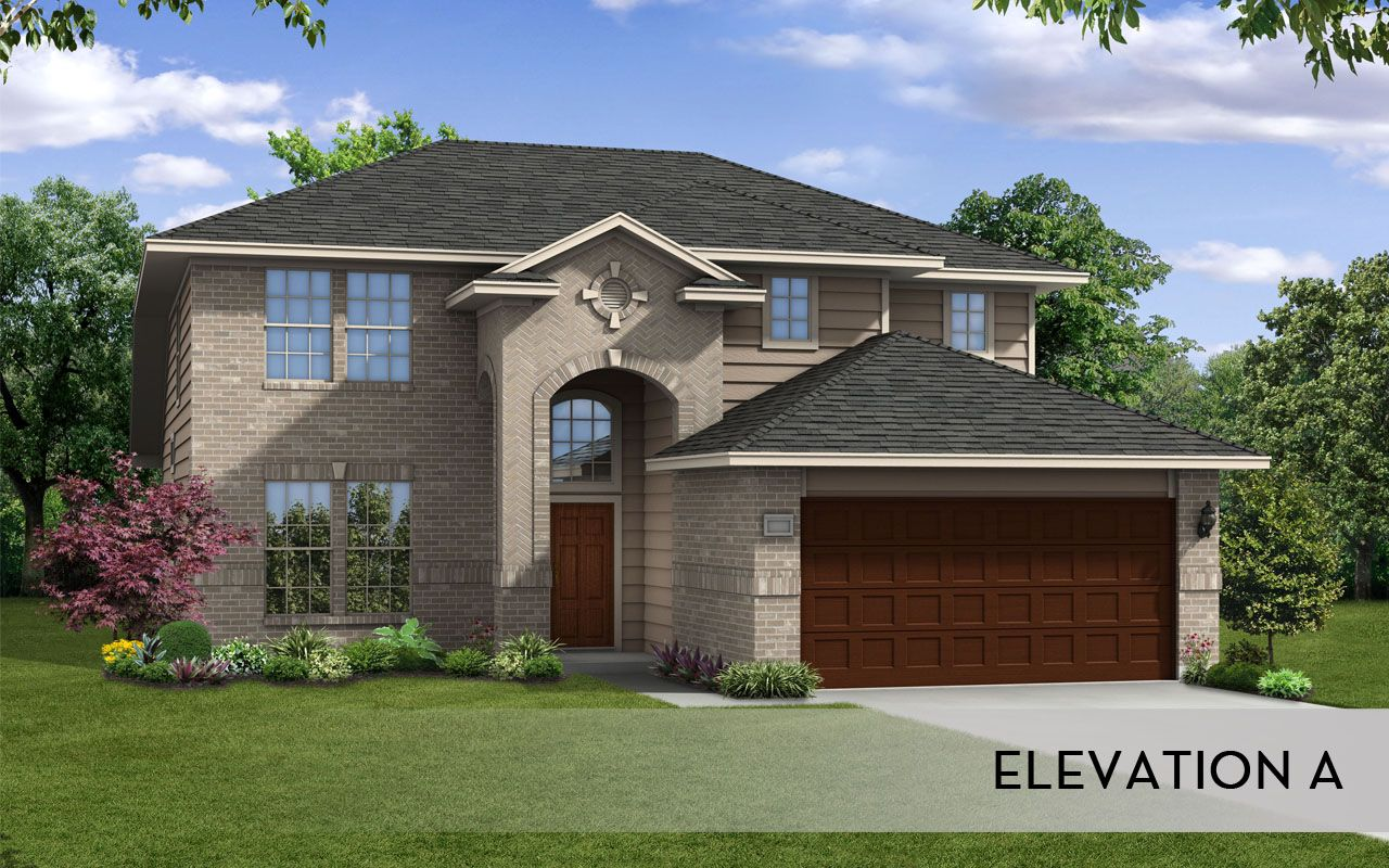 Ouray silver home plan by castlerock communities in talise for By design home care san antonio