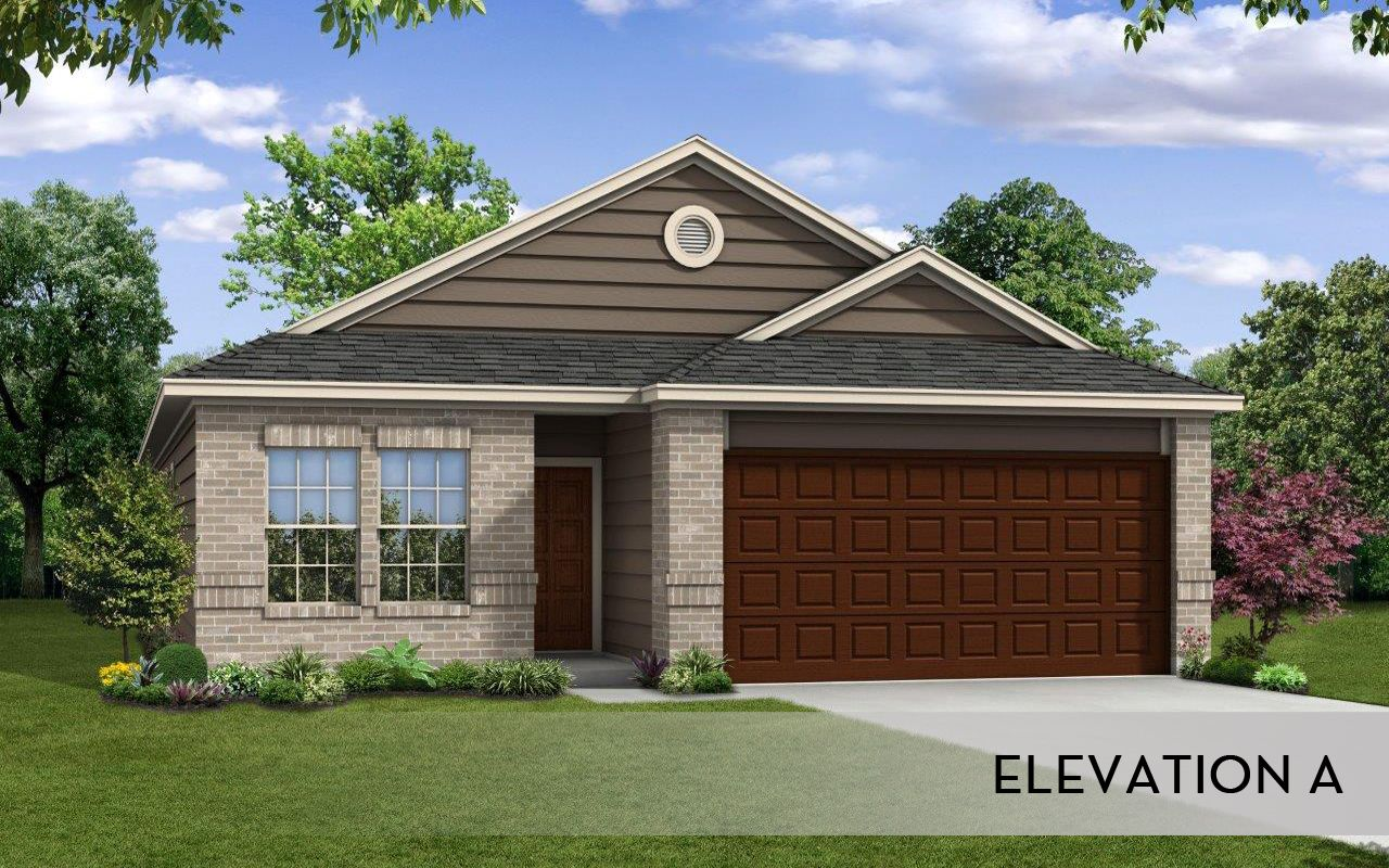 Sabine cobalt home plan by castlerock communities in for Laurel home
