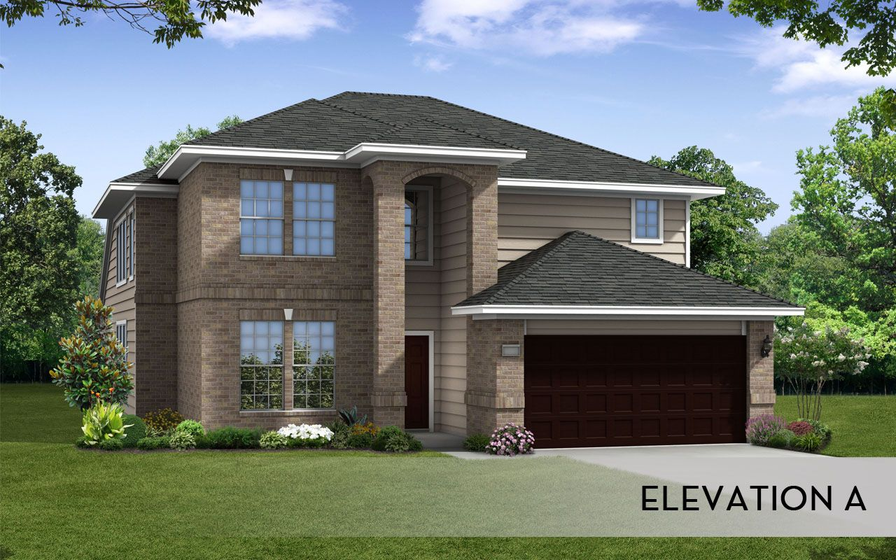 Silverthorne silver home plan by castlerock communities in for By design home care san antonio
