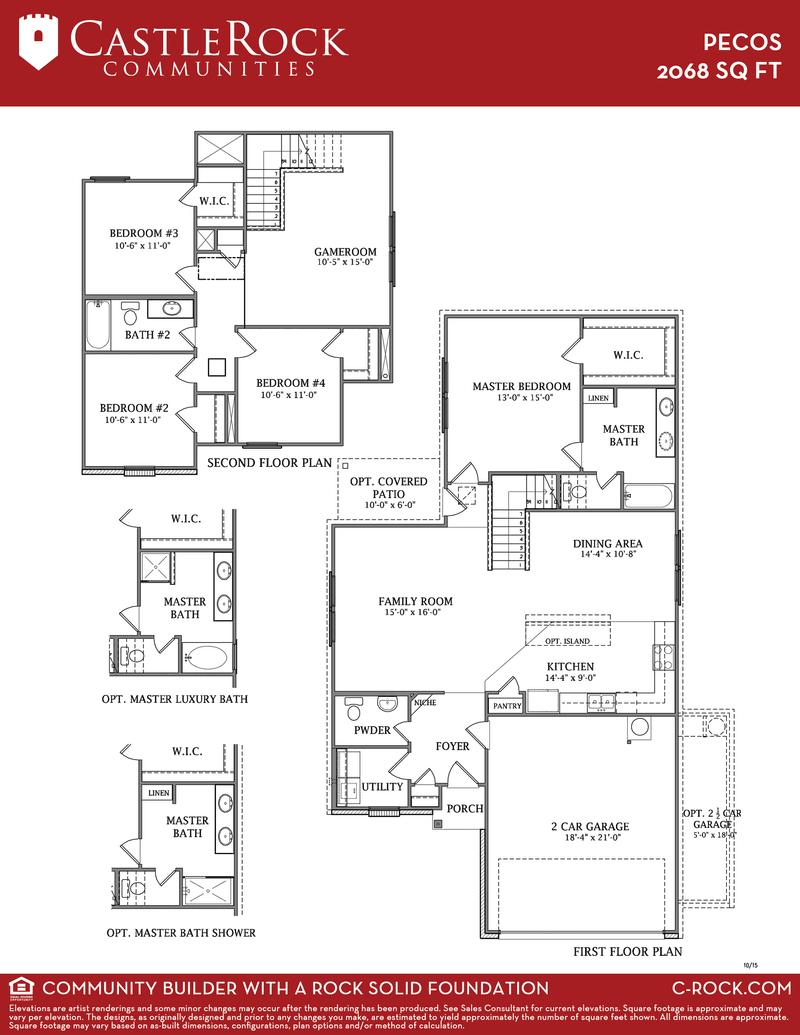 Pecos Floor Plan