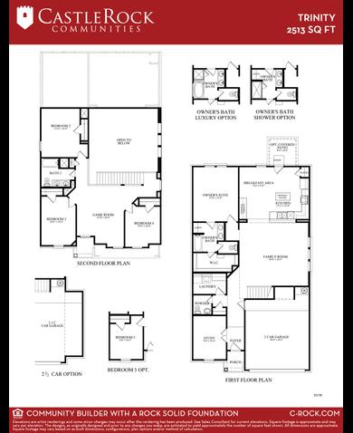 Castle rock alamosa floor plan gurus floor for Trinity homes floor plans