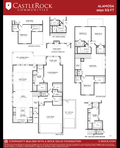 Castle Rock Alamosa Floor Plan Gurus Floor