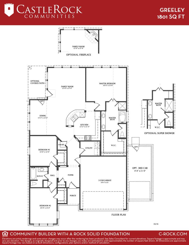 Castle Rock Home Floor Plans Home Fatare