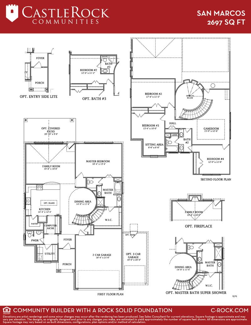 San Marcos Floor Plan