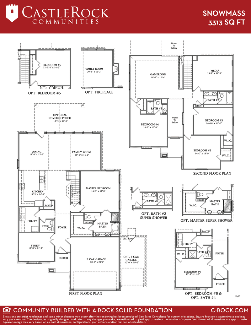 Snowmass Floor Plan