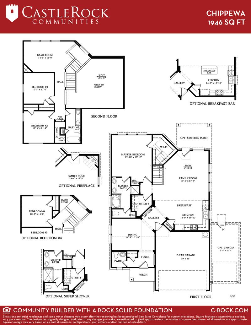 Chippewa Floor Plan