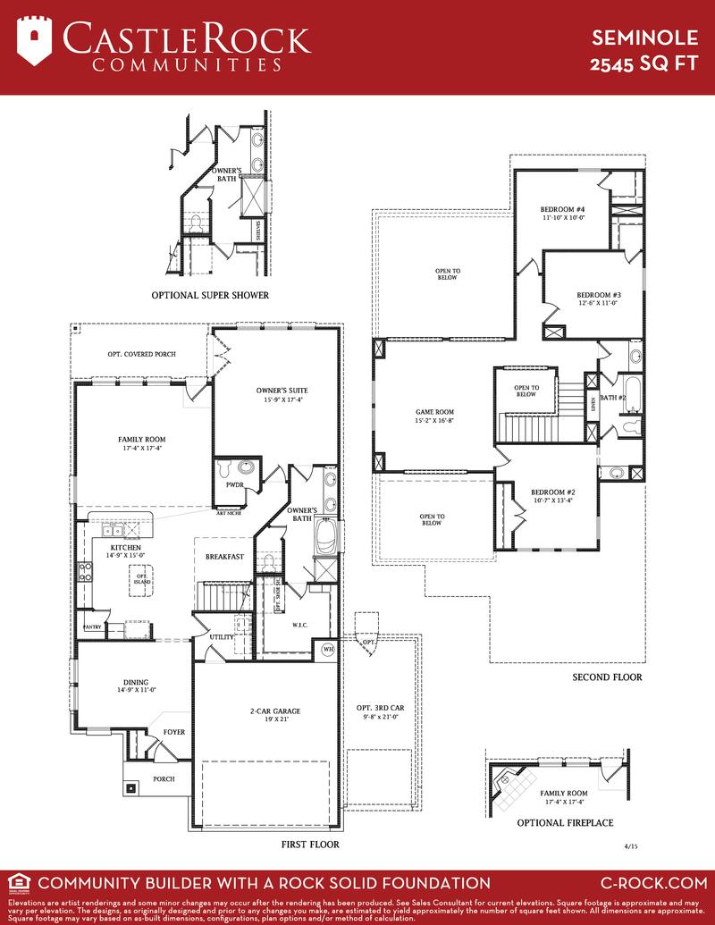 Seminole Floor Plan