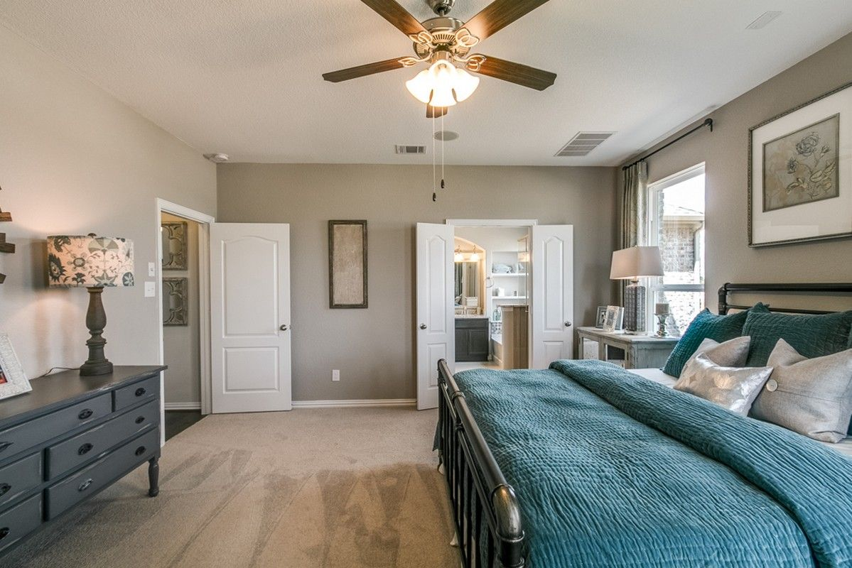 Bedroom featured in the Snowmass-Silver By CastleRock Communities in Dallas, TX