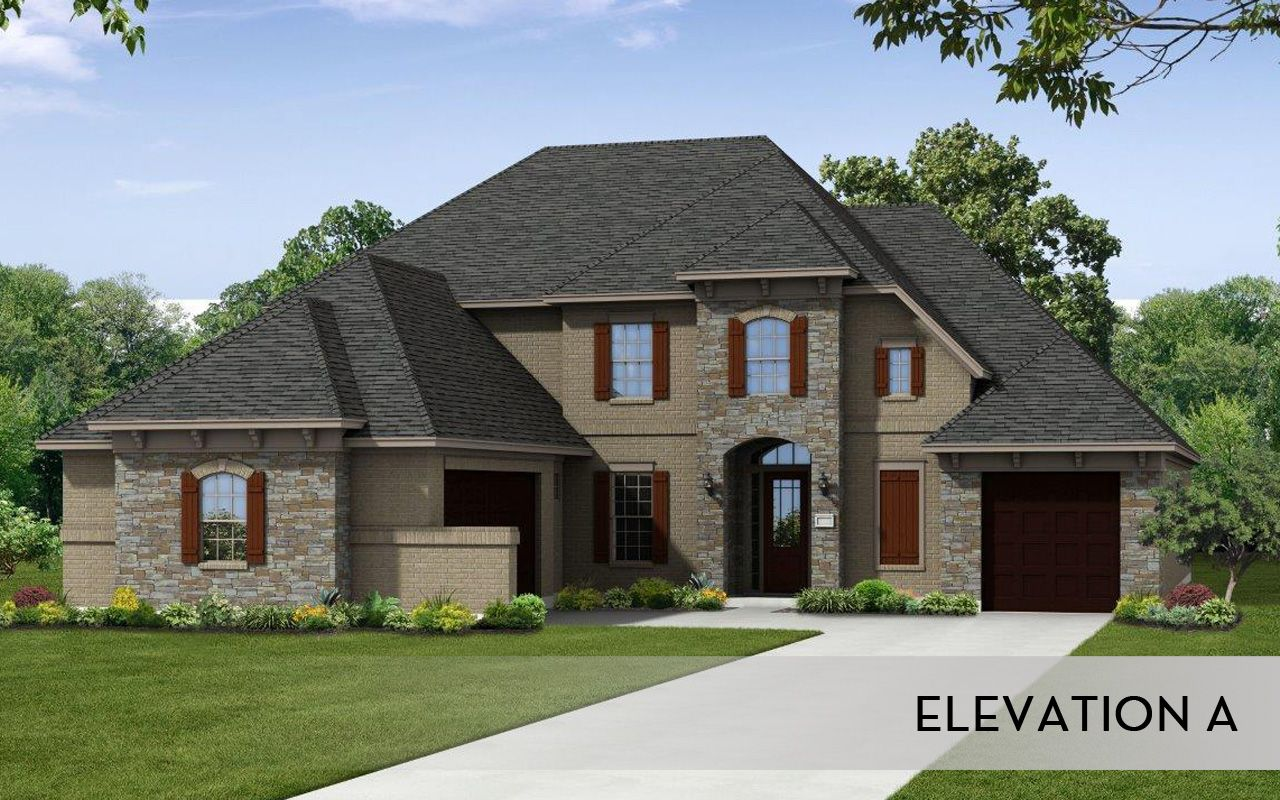 Cappiello mercury luxury home home plan by castlerock for Luxury new build homes