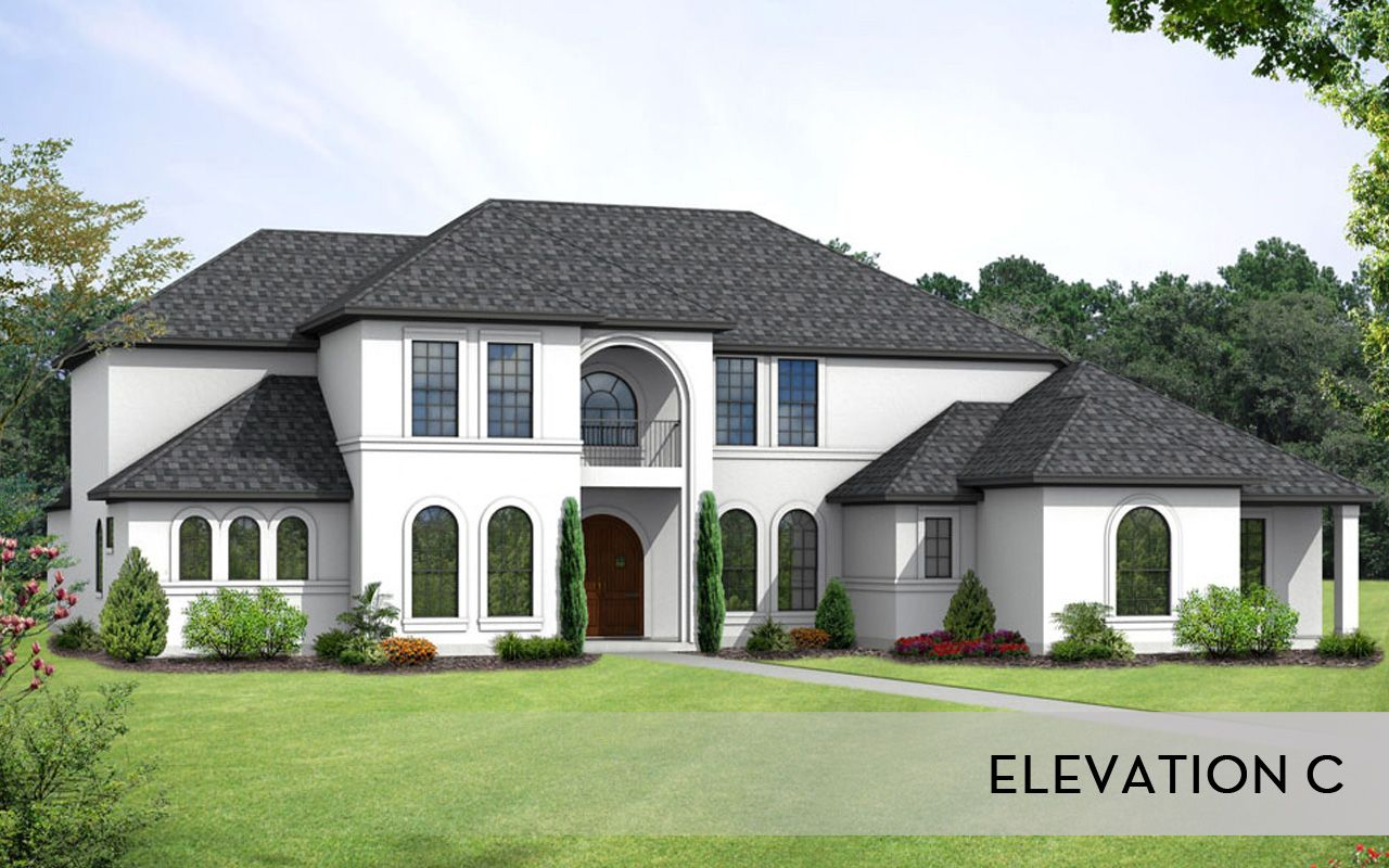 Pebble beach mercury luxury home home plan by castlerock for How to find a good home builder