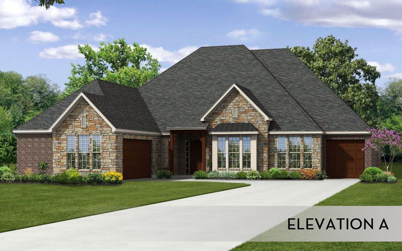 Diamante mercury luxury home home plan by castlerock for By design home care san antonio