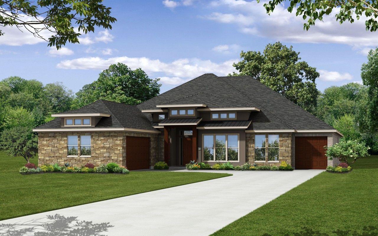 Exterior featured in the Diamante-Mercury Luxury Home By CastleRock Communities in Austin, TX