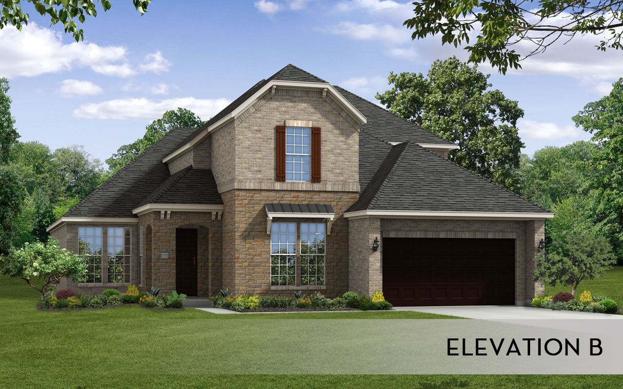 Artesia gold home plan by castlerock communities in siena for By design home care san antonio