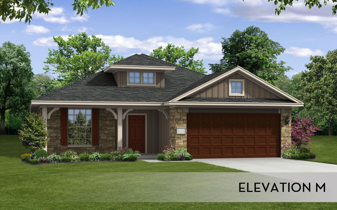 Exterior featured in the Aspen-Silver By CastleRock Communities in Austin, TX