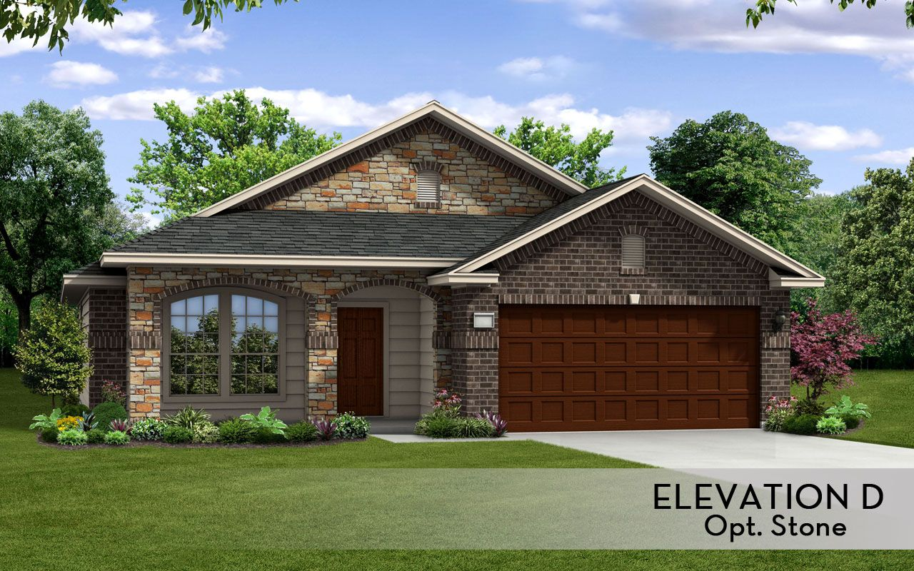 Exterior featured in the Aspen-Silver By CastleRock Communities in Brazoria, TX