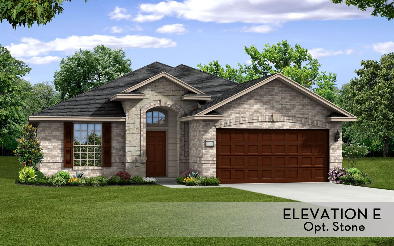 Aspen silver home plan by castlerock communities in parc for By design home care san antonio