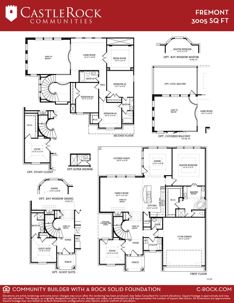 Castle Rock Builders Floor Plans Gurus Floor