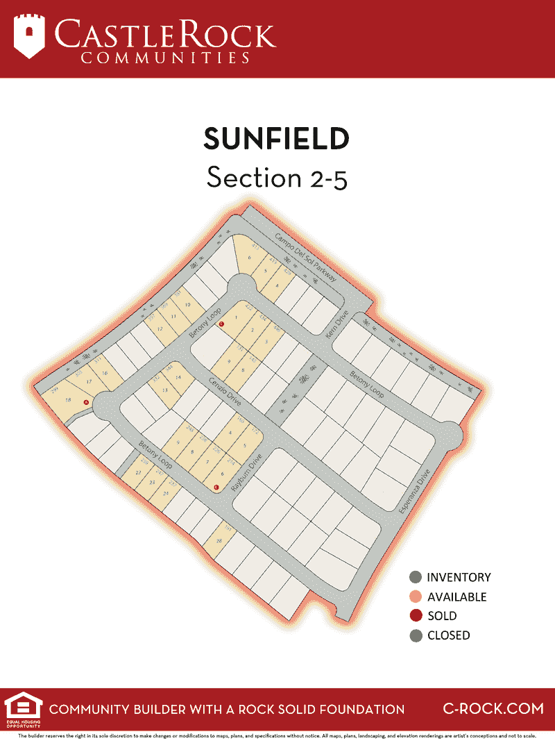 Sunfield Section 2-5
