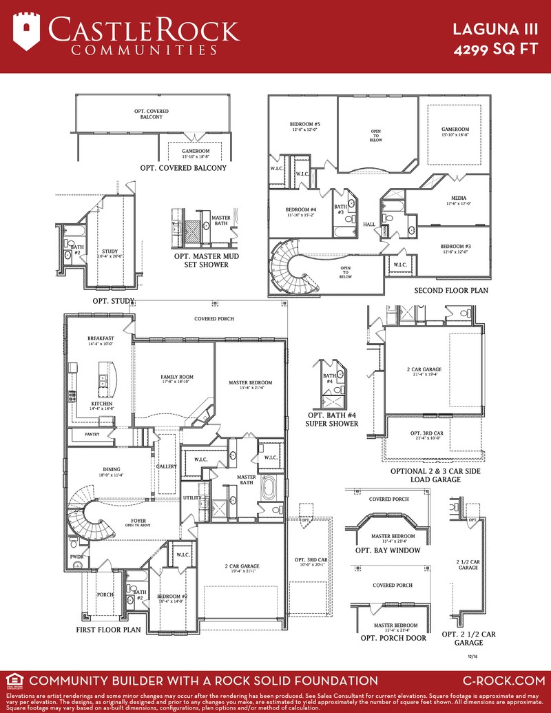 Laguna Iii Gold Home Plan By Castlerock Communities In