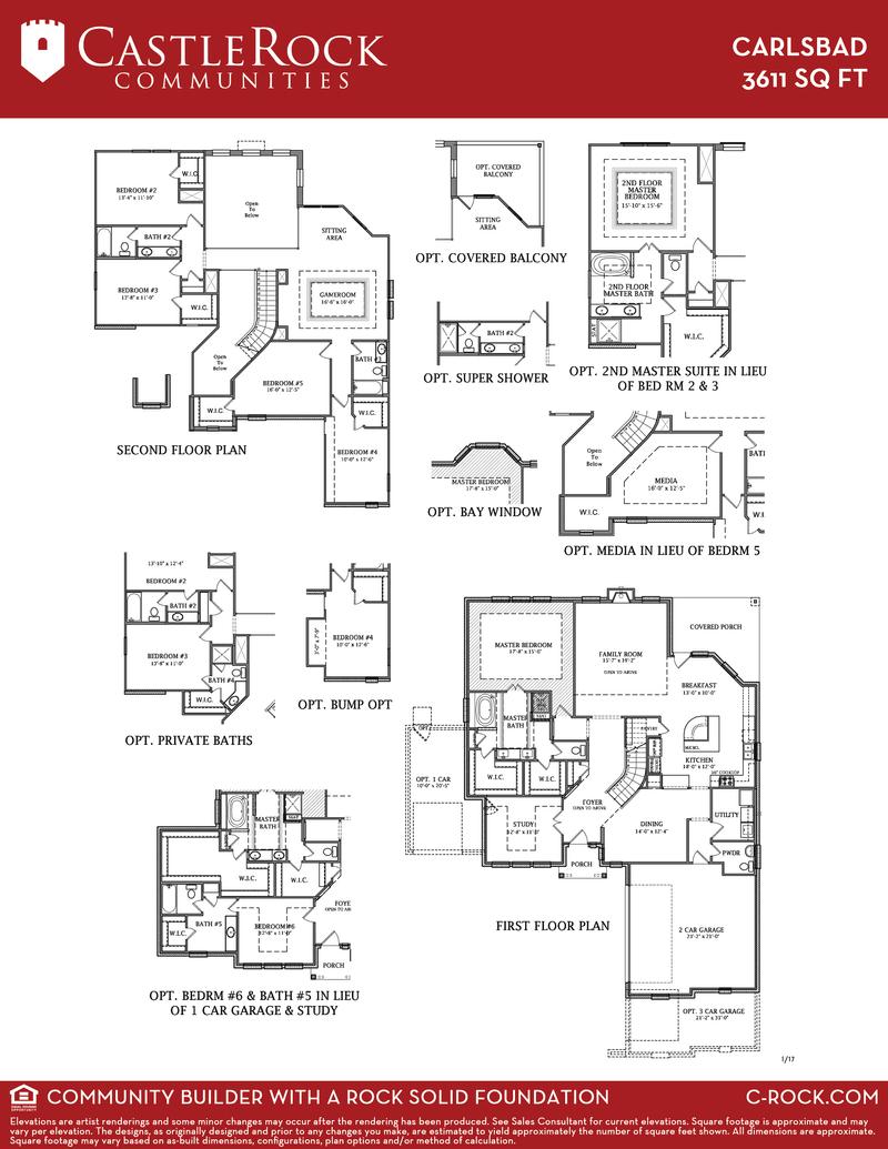 Carlsbad Gold Home Plan By Castlerock Communities In Rim Rock