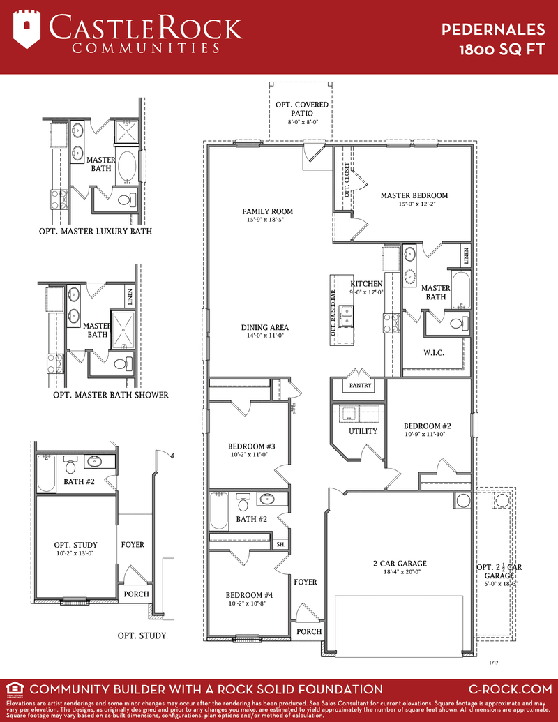 Pedernales Cobalt Home Plan By Castlerock Communities In