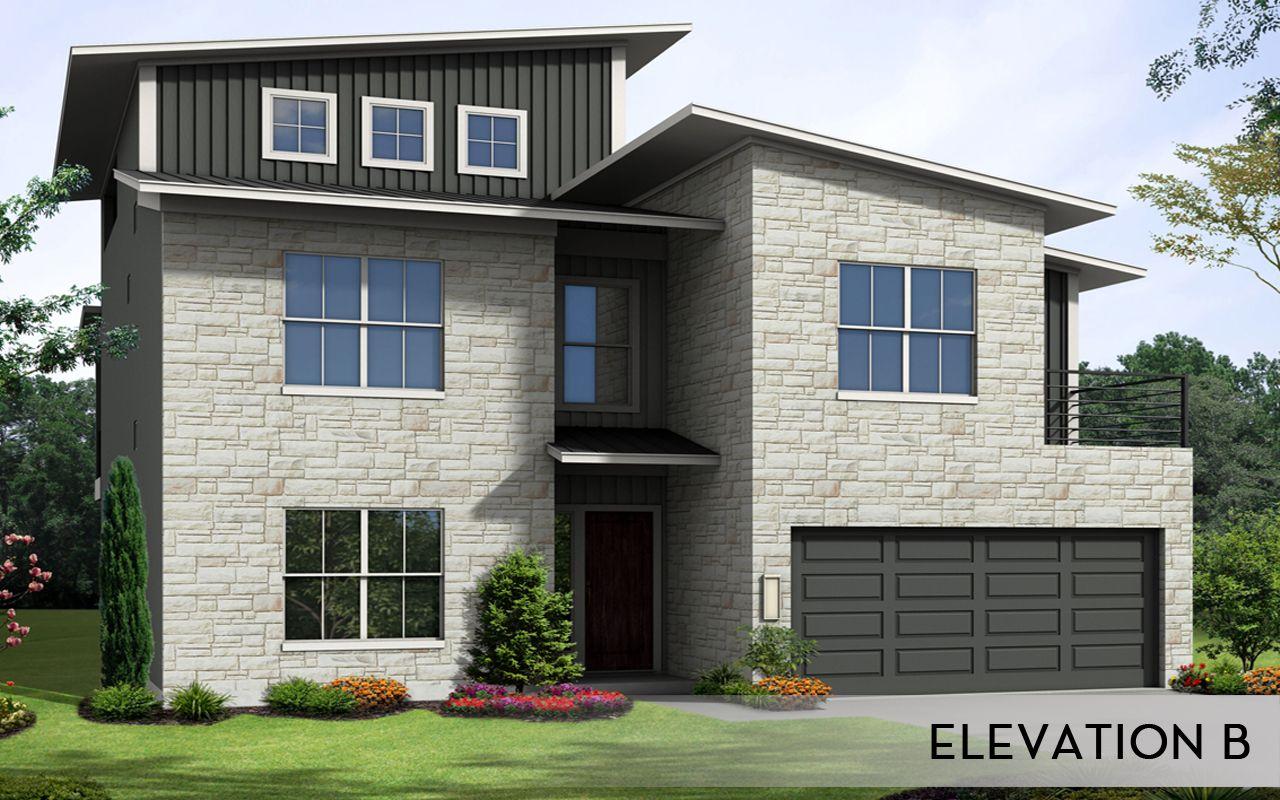 Joplin urban gold home plan by castlerock communities in for By design home care san antonio