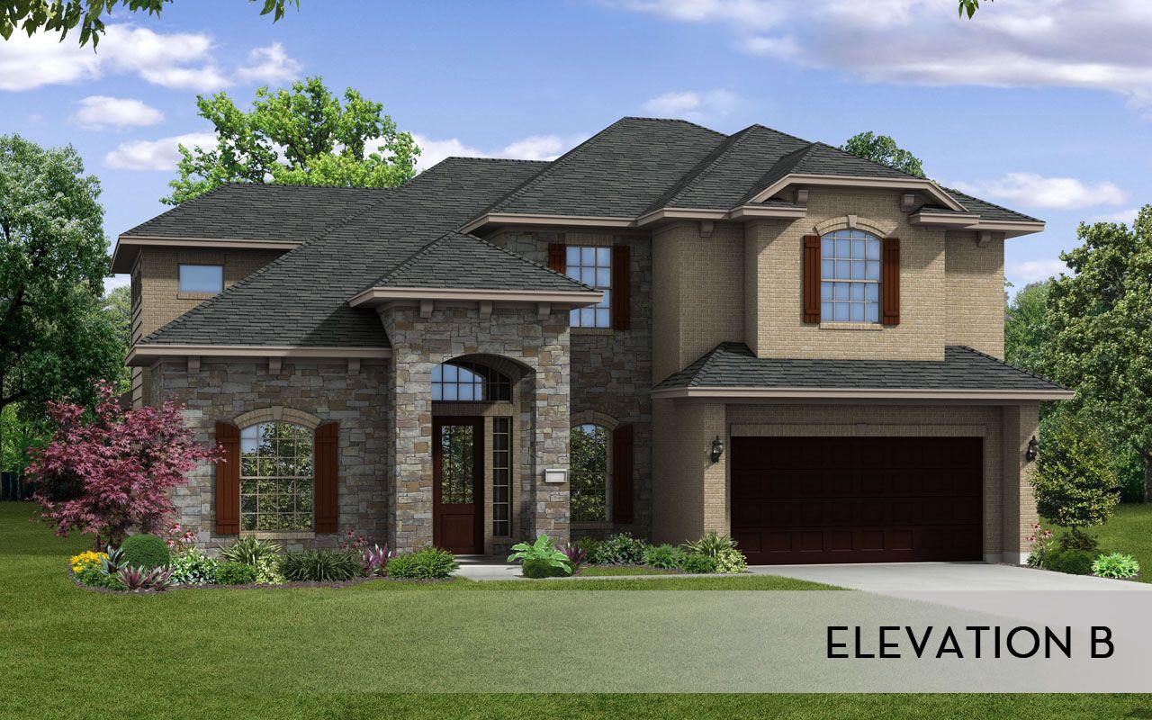 Castle Rock New Homes 4 Car Garage Fremont Gold Home Plan