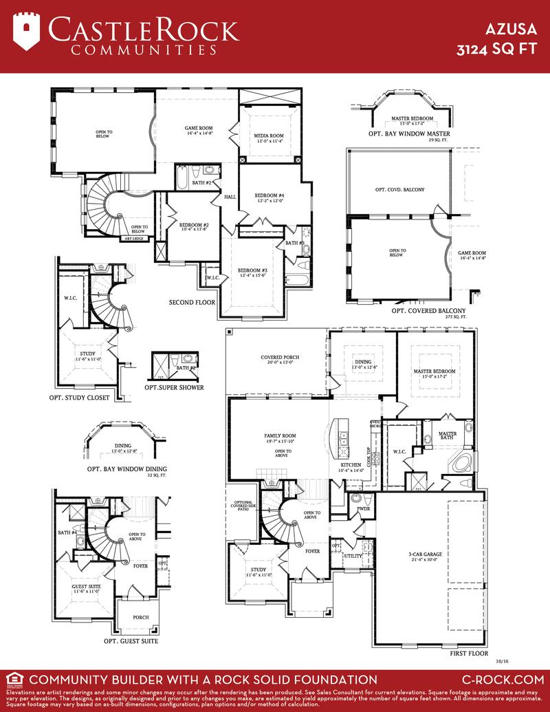 Castle Rock Home Floor Plans