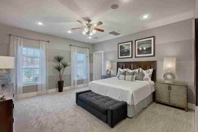 Solstice at Harmony Master Bedroom