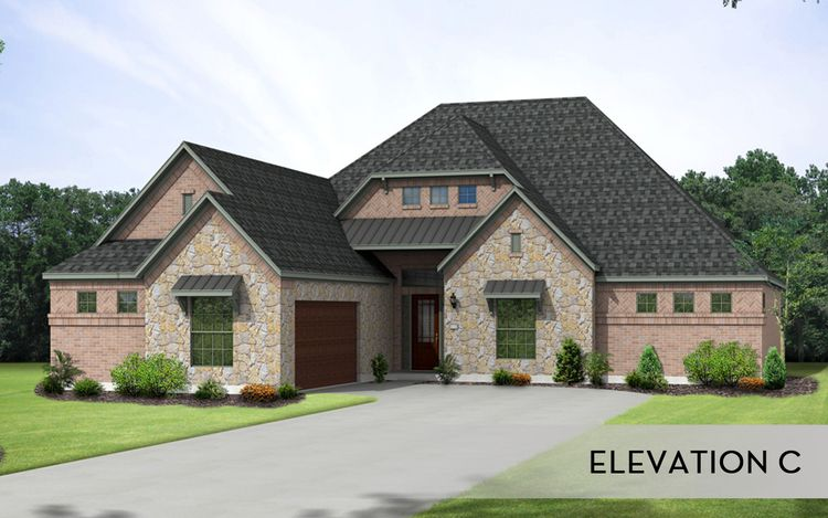 Living Area featured in the Merion II-Mercury Luxury Homes By CastleRock Communities in Dallas, TX