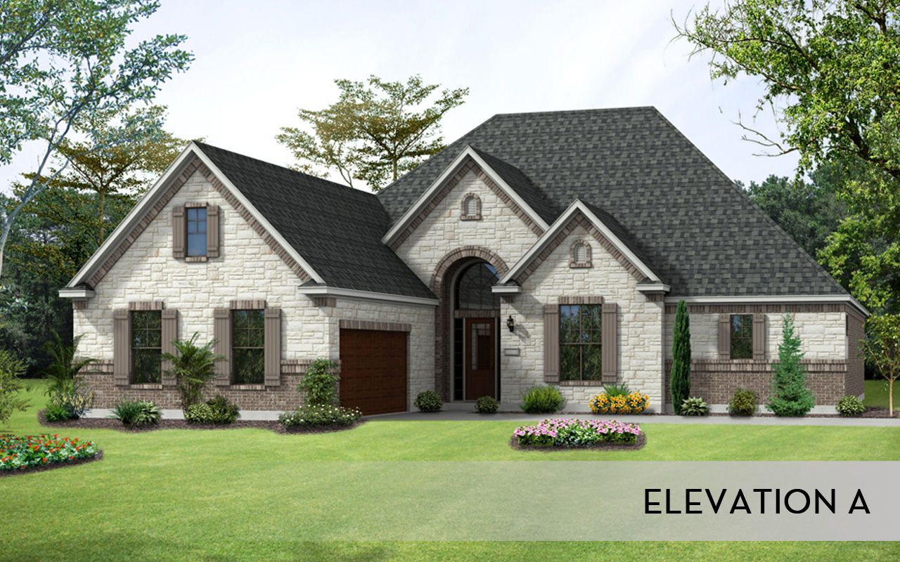 Exterior featured in the Merion II-Mercury Luxury Homes By CastleRock Communities in Dallas, TX