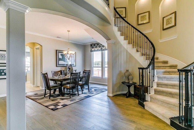 Living Area featured in the Laguna III By CastleRock Communities in Houston, TX