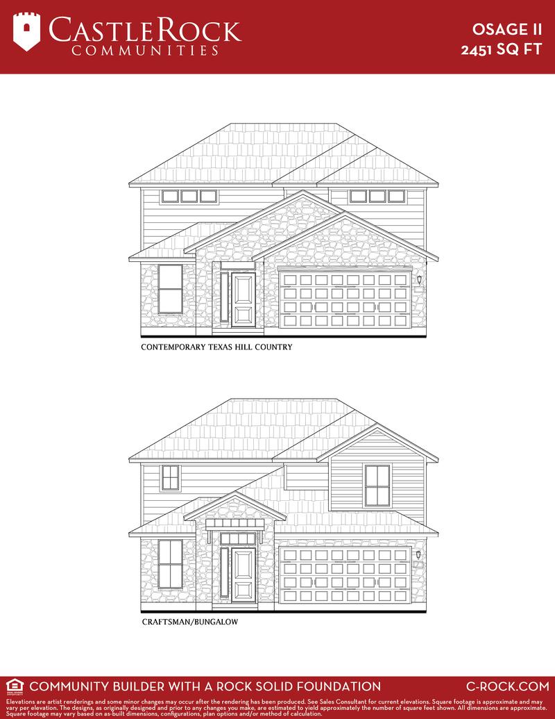 Osage II-Silver Home Plan by CastleRock Communities in Rancho Sienna