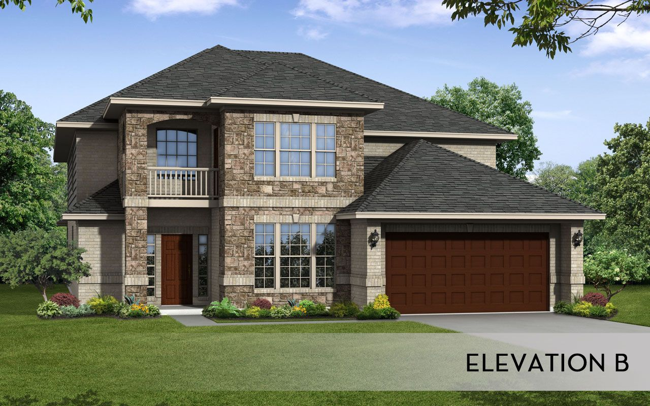 Laguna ii gold home plan by castlerock communities in for By design home care san antonio