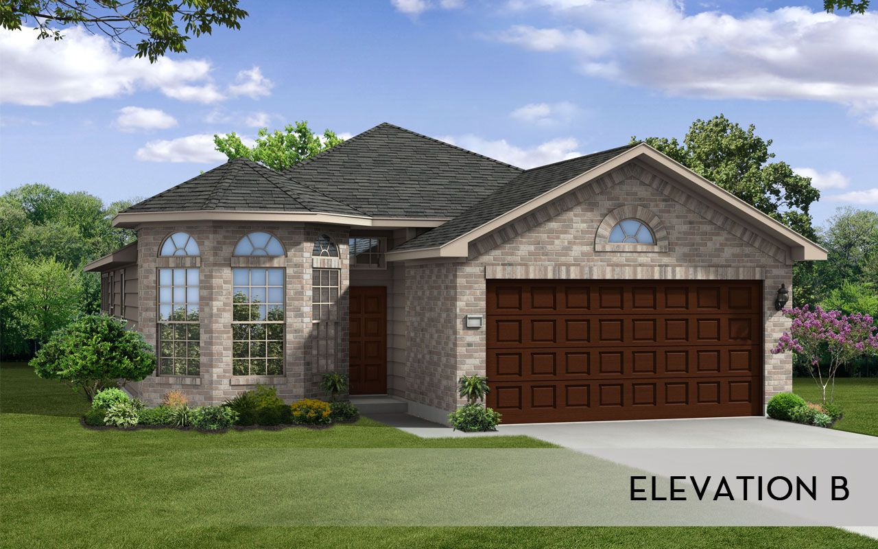 Apache silver home plan by castlerock communities in homestead for By design home care san antonio