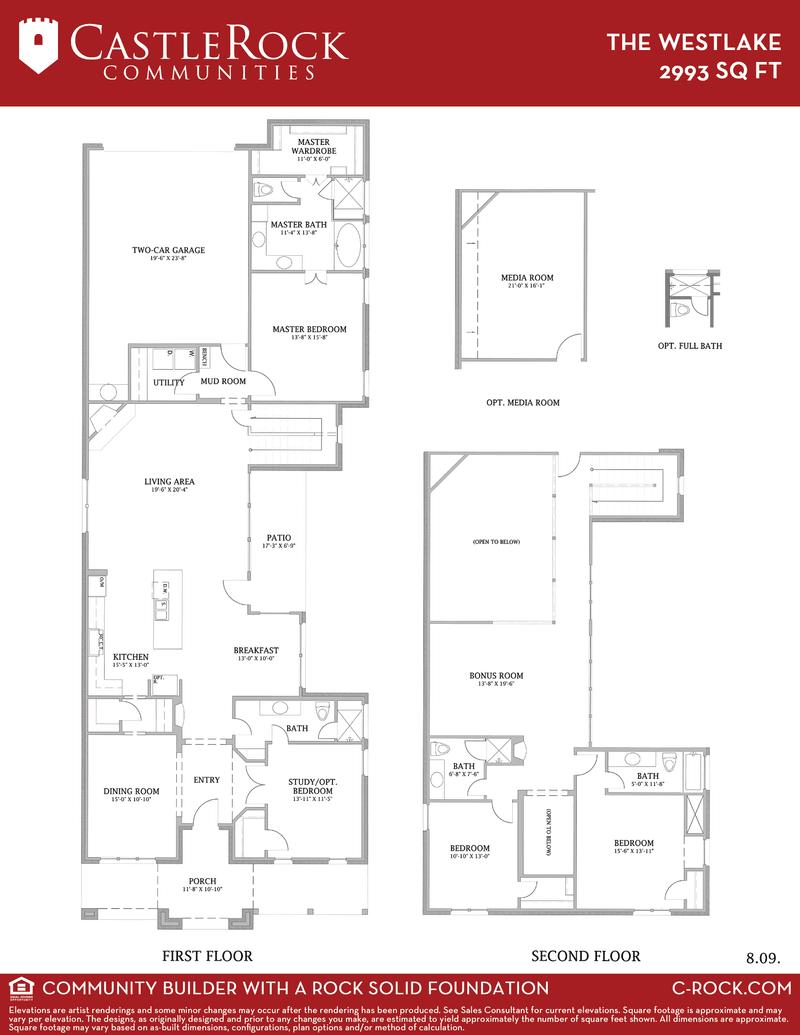 Txu Energy Plans >> The Westlake Home Plan by CastleRock Communities in Viridian