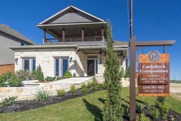 Homestead In Schertz, TX, New Homes & Floor Plans By