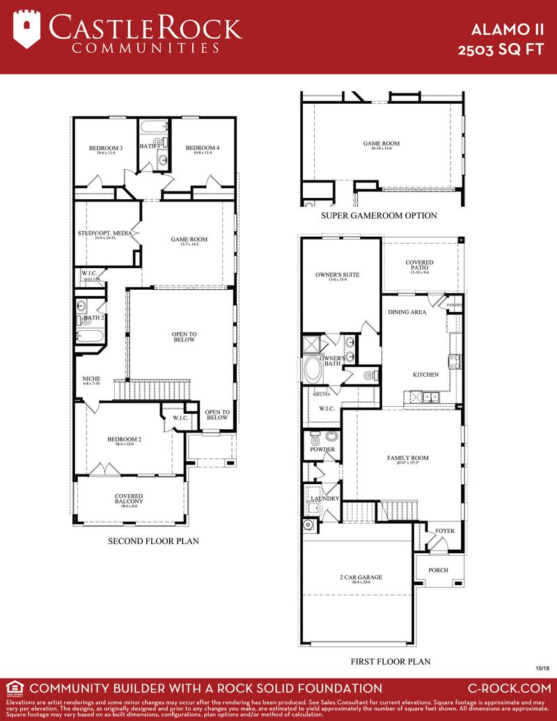 Alamo II Floor Plan