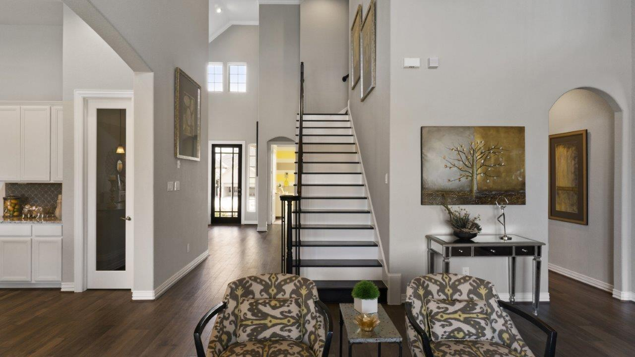 Living Area featured in the Artesia-Gold By CastleRock Communities in Houston, TX