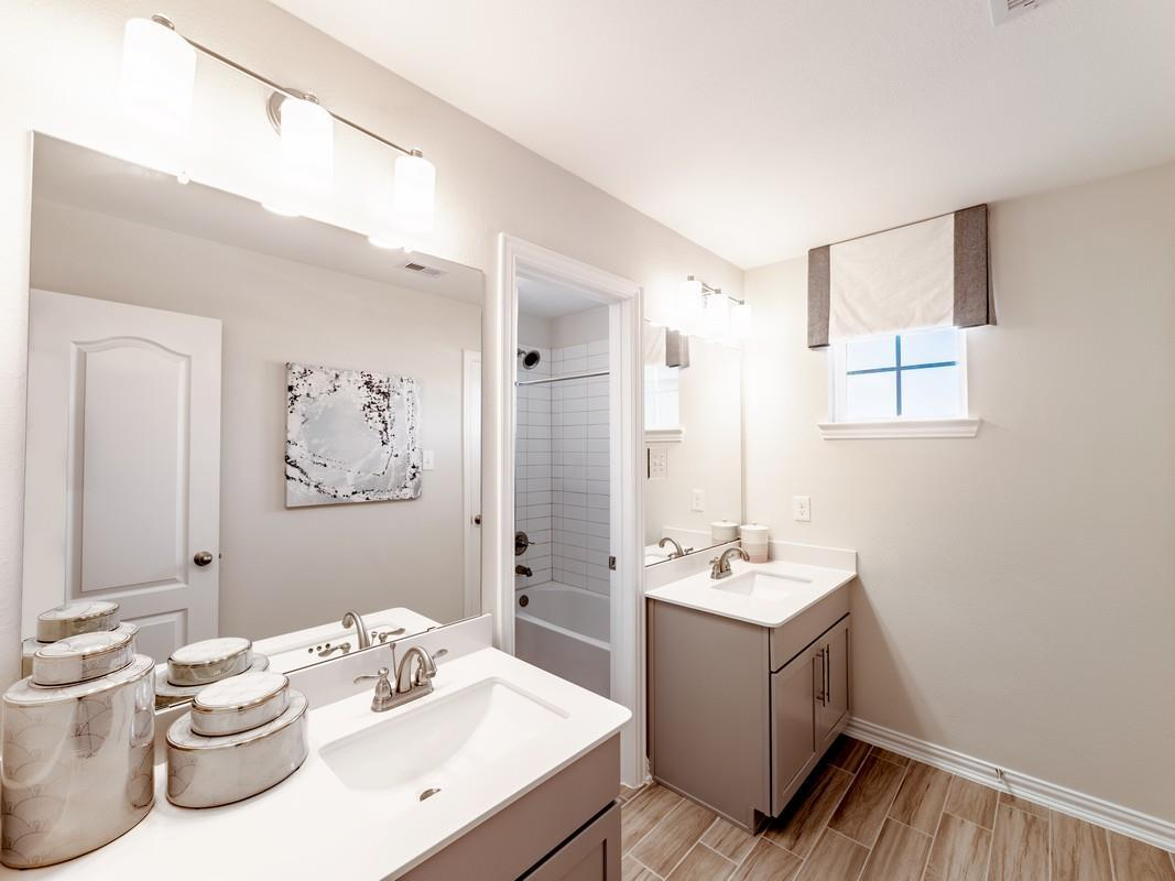 Bathroom featured in the San Marcos By CastleRock Communities in Houston, TX