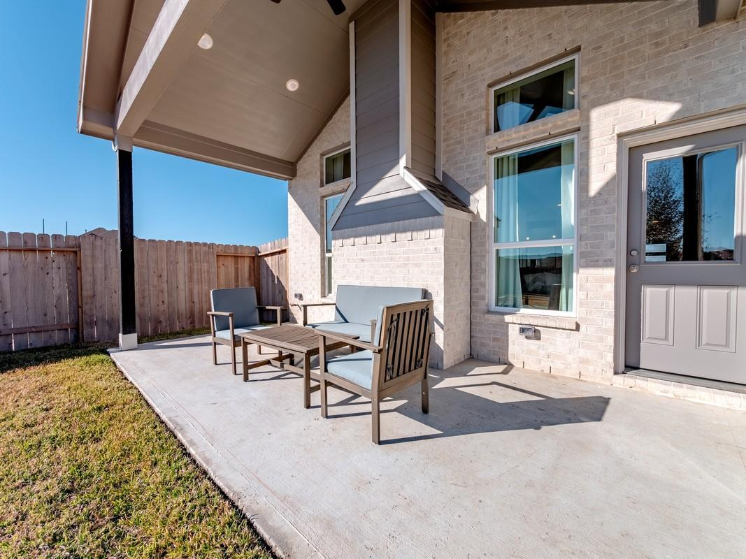 Exterior featured in the San Marcos-Silver By CastleRock Communities in Brazoria, TX