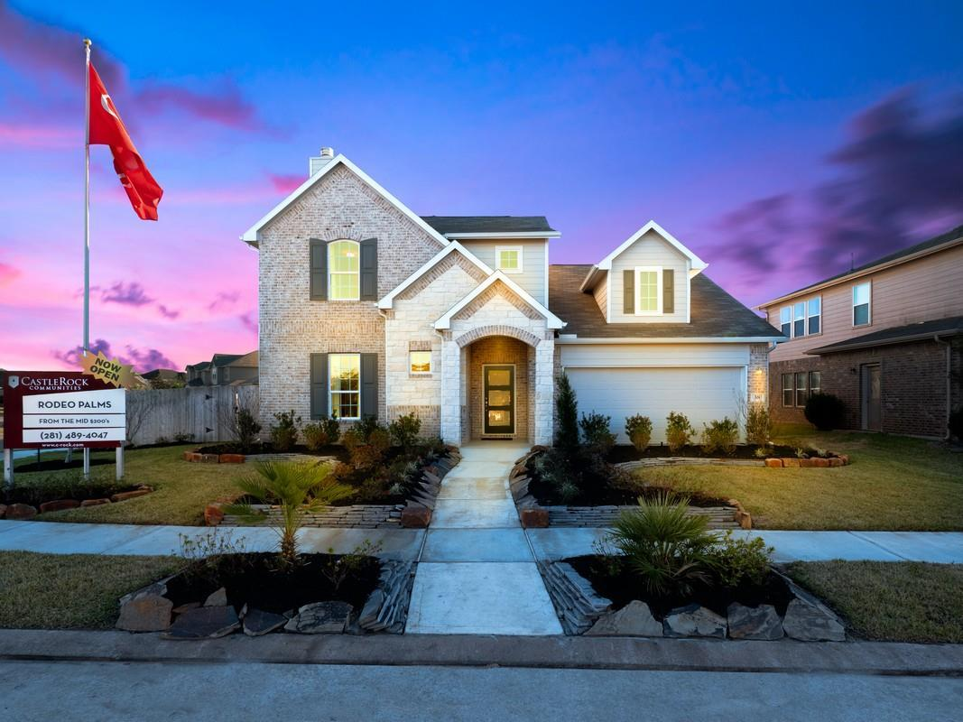 Exterior featured in the Dickinson-Silver By CastleRock Communities in Brazoria, TX