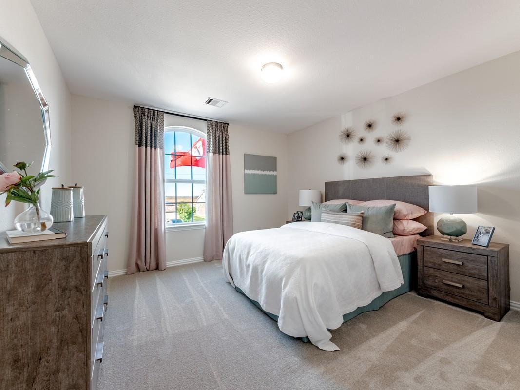 Bedroom featured in the Dickinson-Silver By CastleRock Communities in Brazoria, TX
