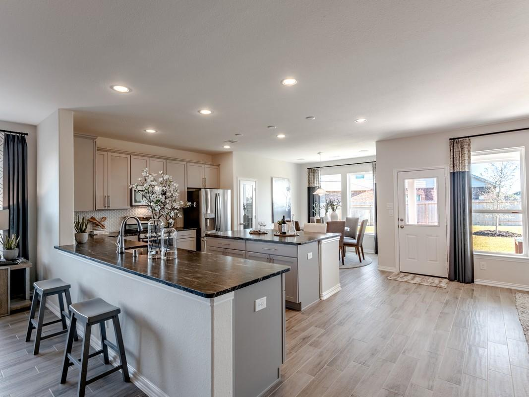 Kitchen featured in the Dickinson-Silver By CastleRock Communities in Brazoria, TX