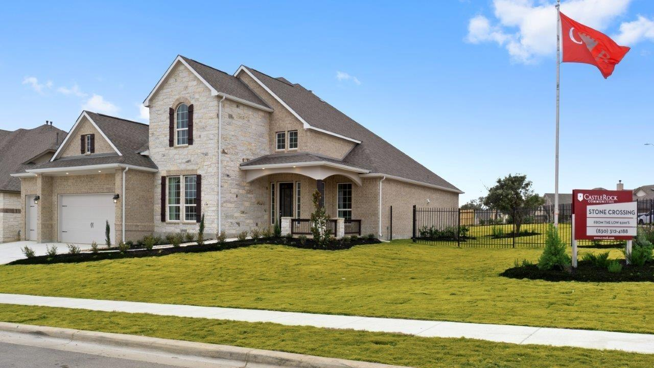 Exterior featured in the Artesia-Gold By CastleRock Communities in Brazoria, TX